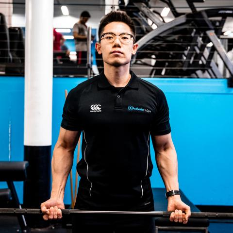 Picture of Activate UTS personal trainer Howie