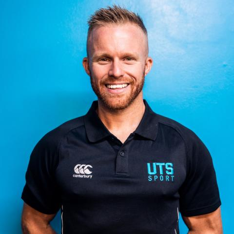 Picture of Activate UTS personal trainer Jordan